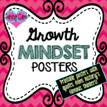 Growth Mindset Posters!