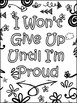 Growth Mindset Doodle Notes and Posters