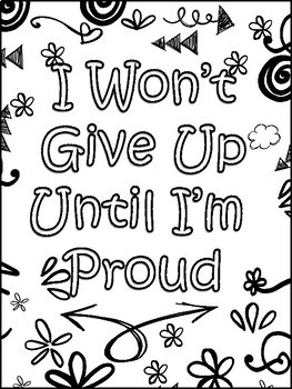 Growth Mindset Drawing Notes and Posters