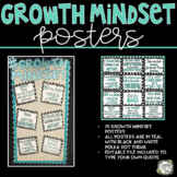 Growth Mindset, Growth Mindset Posters, Growth Mindset Bulletin Board