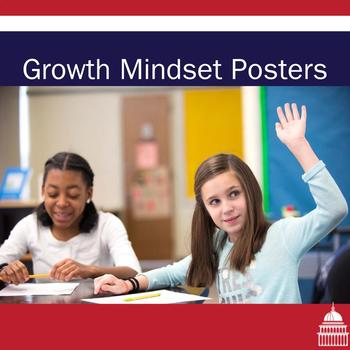 Growth Mindset Posters for a Bulletin Board
