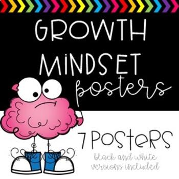 #ausbts18 Growth Mindset Posters