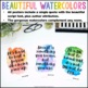 Growth Mindset Posters {36 8.5x11 Watercolor Signs: Classroom Decor}