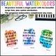 Growth Mindset Posters {36 8.5x11 Watercolor Signs: Script Font Classroom Decor}