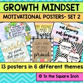 Growth Mindset Posters- Set 2