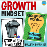 Growth Mindset Bulletin Board Posters