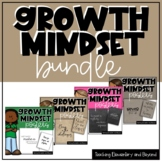 Growth Mindset Posters Bundle for Junior, Intermediate and