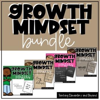 Growth Mindset Posters Bundle {Junior, Intermediate & Seni