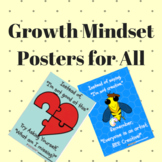 Growth Mindset Posters Classroom Decor
