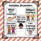 24 Growth Mindset Printable Posters | Color, Black and Whi