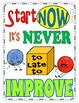 Growth Mindset Posters Colorful Posters for Display