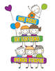 Growth Mindset Posters & Coloring Pages Bundle - Kindness Bulletin Boards