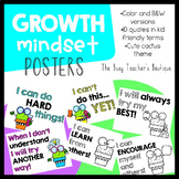 Growth Mindset Posters- Cute Cactus Theme