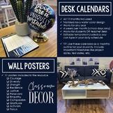 Growth Mindset Posters & Desk Calendars: Extreme Makeover