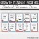 Growth Mindset Posters EDITABLE- Nautical Classroom Decor
