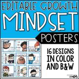 Growth Mindset | Growth Mindset Posters | Growth Mindset Bulletin Board