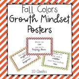 Growth Mindset Posters-Fall Colors