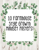 Growth Mindset Posters-Farmhouse
