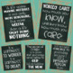 Growth Mindset Posters Farmhouse Chalkboard Teal Design