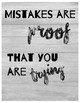 Growth Mindset Posters - Farmhouse/rustic Theme