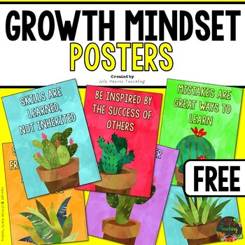 Growth Mindset Posters (Free)