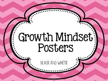 Growth Mindset Posters *Freebie*