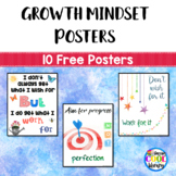 Growth Mindset Posters - Freebie