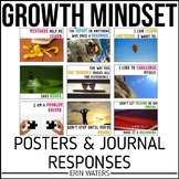Growth Mindset Posters & Journal Prompts