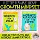 Growth Mindset Posters: Llamas Llove Growth Mindset! {Llama & Cactus Decor}