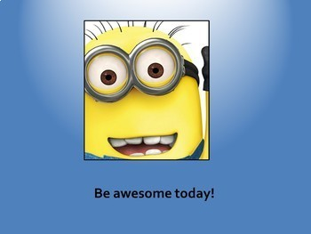 Growth Mindset Posters - Minion-themed Set Two (Editable)
