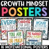Growth Mindset Posters | Motivational Posters Classroom De