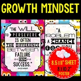 Growth Mindset Posters! Owl Theme