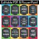 Growth Mindset Posters Polka Dot Chalkboard, Growth Mindset Bulletin Board Ideas