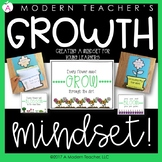 Growth Mindset Posters, Power Point, Craft & Writing Activ