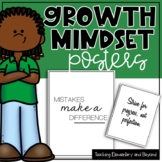 75 Printer Friendly Growth Mindset Posters Including Small and Large Posters