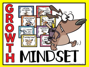 Growth Mindset Posters (Dog Theme)