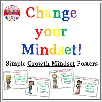 Growth Mindset Posters - Simple