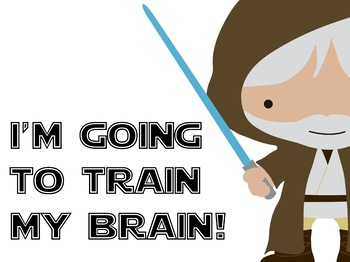 Growth Mindset Motivational Posters: Space Wars Theme (EDITABLE)