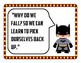 Growth Mindset Posters SuperHero Theme 40 total AVID Weekly Poster for classroom