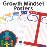 Growth Mindset Posters/ T-Charts