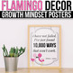 Growth Mindset Posters Tropical, Growth Mindset Bulletin Board Ideas