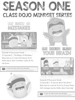 Growth Mindset Class dojo video lessons