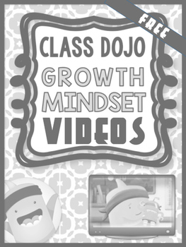 Growth Mindset Class dojo video lessons