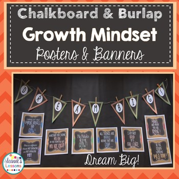 Growth Mindset Posters and Banners