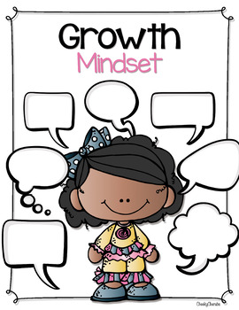 Growth Mindset Posters and Booklet (Editable)