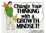 Growth Mindset Posters and Writing Activities (Teen / High
