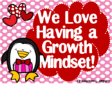 Growth Mindset Posters and Writing Activities (Valentine P