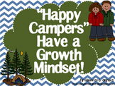 Growth Mindset Posters and Writing (Camping Theme)