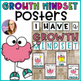 Growth Mindset Posters for Bulletin Board