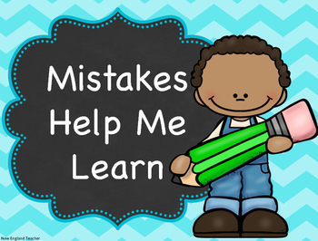 Growth Mindset Posters for Elementary Class Decor or Bulletin  Board